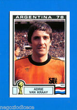 WORLD CUP STORY Panini - Figurina-Sticker n. 119 -VAN KRAAY-NED-ARGENTINA 78-New