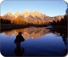 Fly Fishing Scenic Mountain Large Mousepad Mouse Pad Great Gift Idea