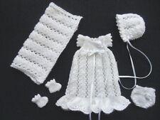 """Hand Knitted muñecas ropa para caber 6.5"""" Bebé Muñeca Rosebud OOAK esculpe"""