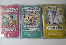 NEW: 3 Heaven's Sake Kids Series audio Cassettes: Silly Songs, He Is Lord...