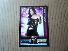 Carte - Catch  Topps Slam Attax 2008 - Divas - Lena Yada