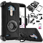 Shockproof Rugged Holster Belt Cover Hard Stand Case Skin For LG G4 Accessories