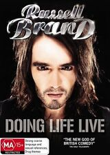 Russell Brand - Doing Life Live (DVD, 2009) R4 PAL - NM - LN ........LOC6