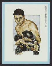 "Joe Louis ""The Brown Bomber"" Boxing Champions 1991 card #7"