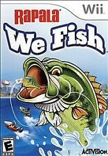 Rapala: We Fish (Nintendo Wii, 2009) Rod and Reel Combo