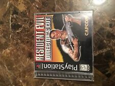 Resident Evil Director's Cut (Sony PlayStation 1, 1997) TESTED COMPLETE PS1