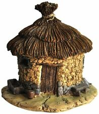 Thatched Roof Fairy House Statue Miniature (4198)Fairy Garden and Terrarium