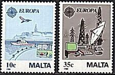 Malta 1988  - Michelnummer 794 - 795  postfrisch ( intern: 1766 )