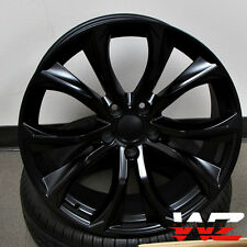 "20"" Rims 451 Style fits BMW X5 X6 X5M X6M xDrive Satin Black Wheels 5X120"