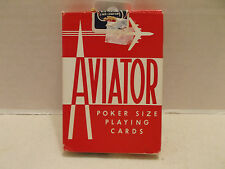 Aviator Single Deck Poker 914 Poker Size Playing Cards The U.S.P.C.C.!