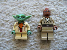 LEGO Star Wars Clone Wars - Rare Original Yoda & Mace Windu - Excellent
