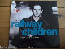 """THE RAILWAY CHILDREN - EVERY BEAT OF THE HEART 12"""" RECORD - VIRGIN - VST 1237"""