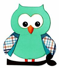 Sizzix Bigz Owl #5 die #660785 Retail $19.99 Cuts Fabric! SO SWEET & FUN!!