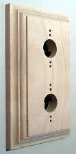 Pine Pattress - Double Period Light Switch Mount