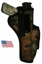 RealTree Camo USA Mfg Belt Hip Holster Ruger Mark I II III Target Pistol .22 22