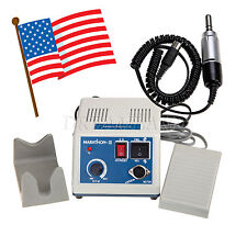 Dental 35K RPM MARATHON Polishing Micromotor Polisher + Lab Electric Motor newn