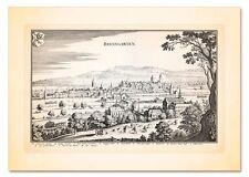 BREMGARTEN REUß ZÜRICHGAU SWITZERLAND SCHWEIZ SUISSE KUPFERSTICH MERIAN FAKS 5