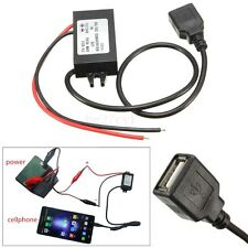 USB DC-DC Car Converter Module 12V/24V to 5V 3A 15W Output Power Adapter Charger