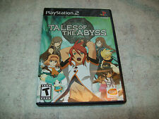 Tales of the Abyss (Sony PlayStation 2, 2006) + LIMITED EDITION LASER CEL