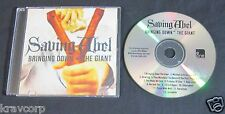 SAVING ABEL 'BRINGING DOWN THE GIANT' 2012 PROMO CD