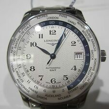LONGINES MASTER MEN'S WATCH AUTOMATIC WORLD TIME SAPPHIRE SWISS L26314706