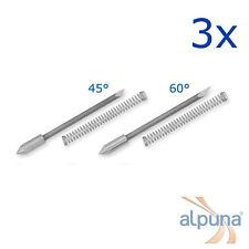3 Plottermesser für Graphtec 0,9mm - 60° ALPUNA Qualitätsmesser