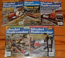 Lot of 5  2002 2008 MODEL RAILROAD Magazines Scratchbuild a Southwestern Depot
