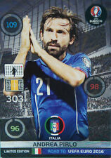 Panini Adrenalyn XL Road to UEFA Euro 2016. Limited Edition Andrea Pirlo