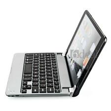 Aluminum Wireless Bluetooth Keyboard Case Cover for Apple iPad Mini Silver Slim