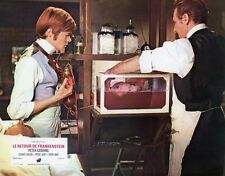 PETER CUSHING FRANKENSTEIN MUST BE DESTROYED 1969 VINTAGE LOBBY CARD #3  HAMMER