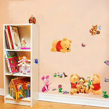 Baby Winnie the Pooh & Tigger Wall Stickers Decor Kid Room Nursery Cartoon Decal