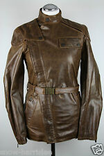 NEW - BELSTAFF - BIKER JACKET - DARK BROWN - GR. 34 - XS/S - NP um 1550,--€