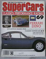 SUPERCARS magazine Issue 69 Featuring Ferrari Dino cutaway & poster, Lee Iacocca
