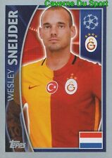 198 WESLEY SNEIJDER NETHERLANDS GALATASARAY STICKER CHAMPIONS LEAGUE 2016 TOPPS