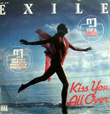 "7"" 1979 RARE FRENCH PRESS ! EXILE : Kiss You Alle Over /VG++"