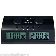 Pro Digital Chess I-GO Timer Clock Set Game Competition Piece Board Tournament