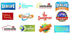 2 x FREE ADULT ENTRY VOUCHER CODES TO ALTON TOWERS LEGOLAND SEALIFE THORPE PARK