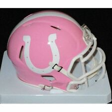 INDIANAPOLIS COLTS NFL Riddell SPEED Mini Football Helmet BCA BREAST CANCER PINK