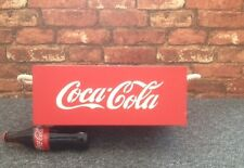 Bespoke Coca Cola storage box crate for mancave (new)