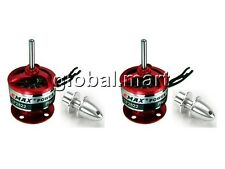 2x EMAX 1200KV CF2822 Outrunner Brushless Motor w/ 3.0mm Propeller Adapter