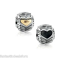 Authentic Pandora® 2011 Midnight Heart Black Friday Limited Edition 790591EN16