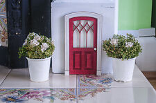 Doll House Front Door, Miniature Internal Wooden Door, Imaginative play,  kids