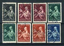 NEDERLAND 313/317 gestempeld 1938 - Kinderzegels