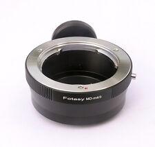 Minolta MD lens to M43 MFT Camera Adapter Tripod Ring Olympus