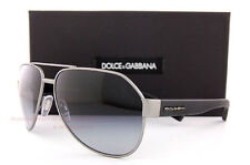 Brand New Dolce & Gabbana Sunglasses DG 2149 1262/8G Gunmetal/Gradient Gray Men