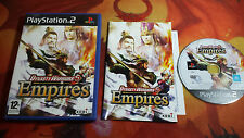 DYNASTY WARRIORS 5 EMPIRES PLAYSTATION 2 PS2 SHIPPING 24/48H