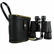 Manon Binoculars 10x50 Field Case Coated Optics Japan Vintage Field 5 Degree