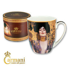 "CARMANI Porcelain Mug decorated with ""Judith"" by Gustav Klimt 400ml"