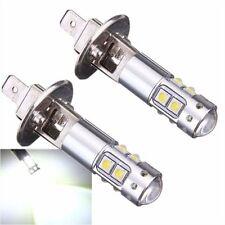 2x H1 50W CREE High Power LED Xenon White Fog Light Daytime Running Bulb 6000k