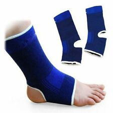 1Pair Ankle Foot Protect Elastic Wrap Sleeve Bandage Brace Support Relief Pain